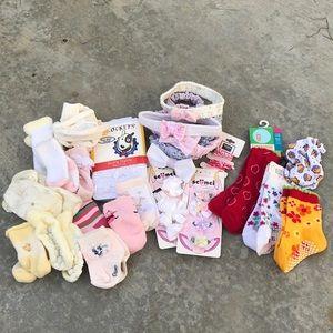 Newborn baby accessories bundle